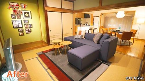 インテリア日和 和室と洋室の統一感を出してほしい